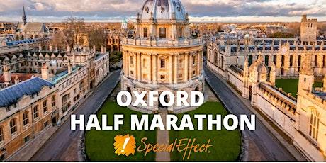 SpecialEffect's Oxford Half Marathon tickets