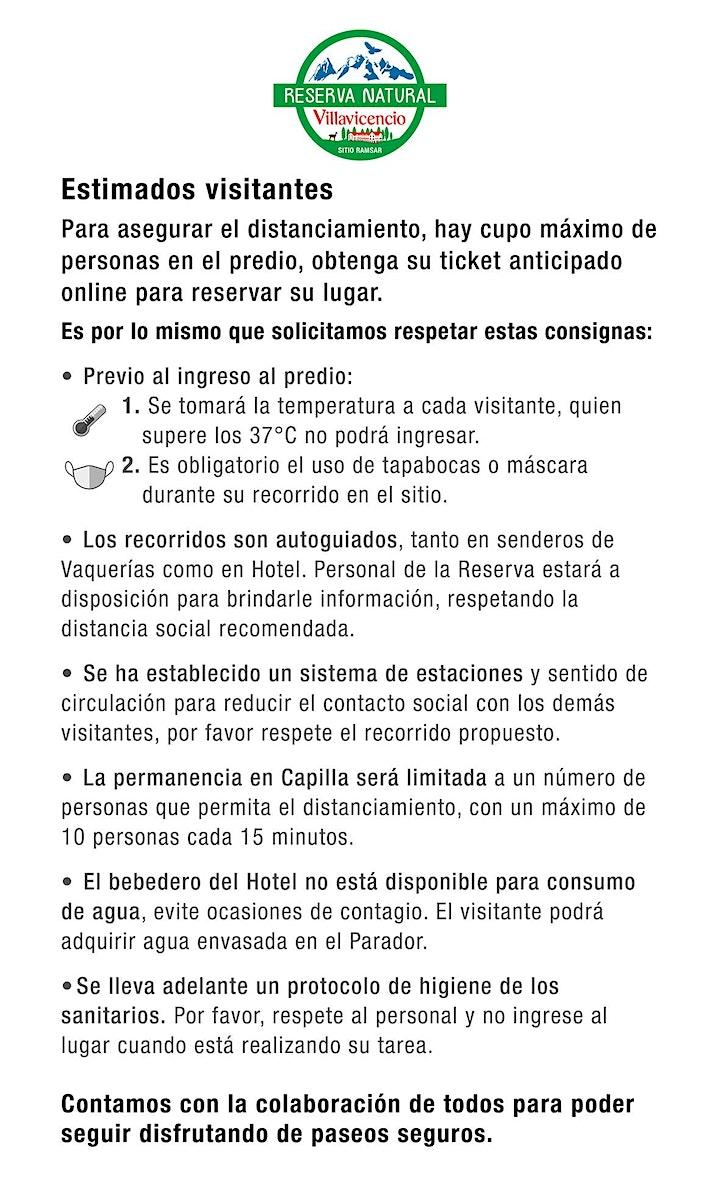 Imagen de Ticket de Ingreso Reserva Natural Villavicencio 2021