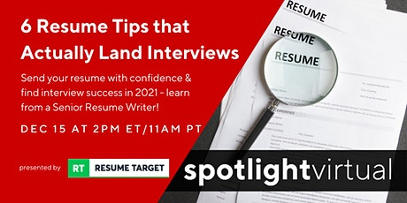 6 Resume Tips that Actually Land Interviews tickets