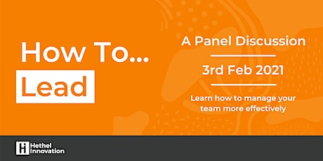 How to: Lead (Virtual Panel Discussion) tickets