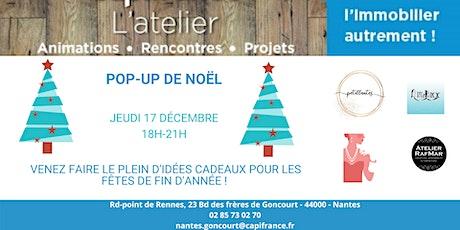 Pop-up de Noël billets