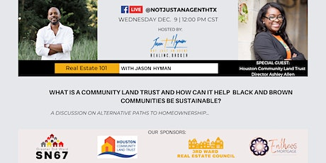 Real Estate 101: Community Land Trusts tickets