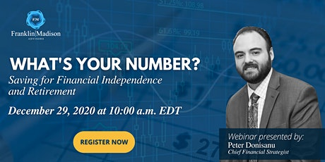 What's Your Number? Saving for Financial Independence and Retirement tickets