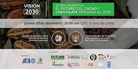 EL FUTURO DEL CACAO Y CHOCOLATE PERUANO AL 2030 entradas