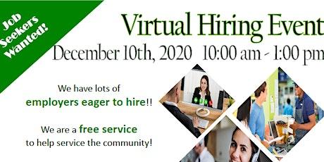 Virtual Hiring Event tickets