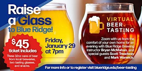 Blue Ridge Community College - Virtual Beer Tasting tickets