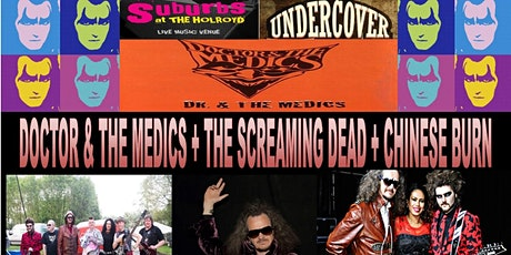 Doctor and the Medics + support go Undercover at Suburbs the Holroyd Surrey tickets