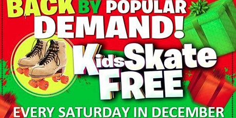 Kids Skate FREE with this Ticket - Saturday, December 5, 10:00am-12:00pm tickets