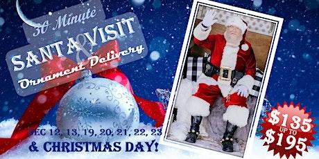 Santa Visit & Ornament Delivery tickets