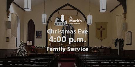 Christmas Eve 4:00 p.m. Family Service | St. Mark's, Orangeville tickets