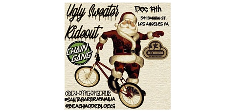 Ugly Christmas Sweater All Bike Rideout tickets