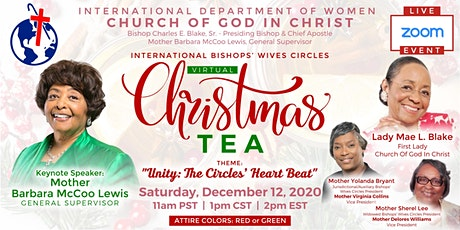 Bishops' Wives  Circles Virtual Christmas Tea tickets