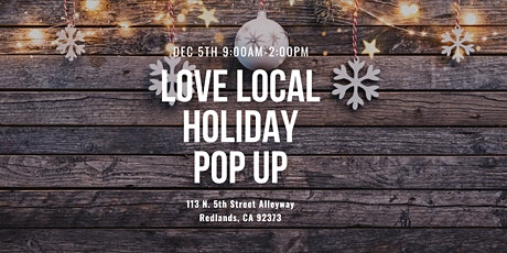 Love Local Holiday Pop Up tickets