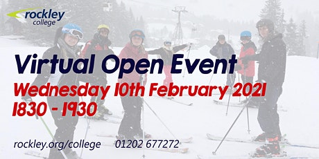 Rockley College Open Event February 2021 tickets
