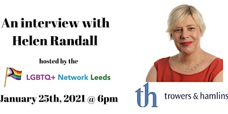 LGBTQ+ Network - 'An Interview with Helen Randall' tickets