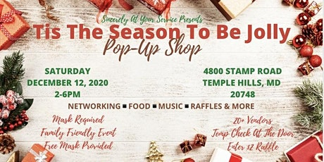 Tis The Season To Be Jolly Pop-Up Shop tickets