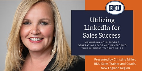 Utilizing LinkedIn for Sales Success tickets