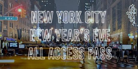 All Access Bar Crawl Pass New York City NYE 2021 [East Village] tickets