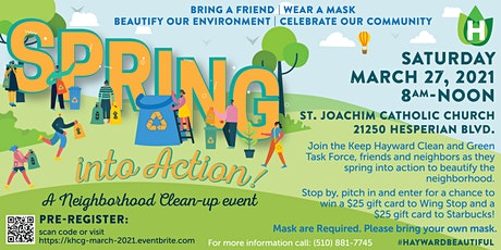 March 2021 Neighborhood Clean-up Event tickets