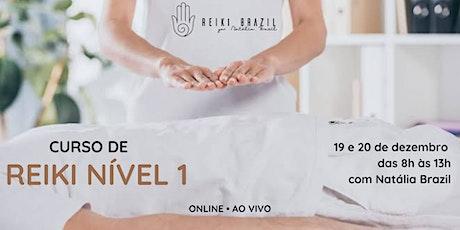 """Formação em Reiki Nível 1 - por Reiki Brazil . USE O CUPOM """"20reikibr"""" bilhetes"""