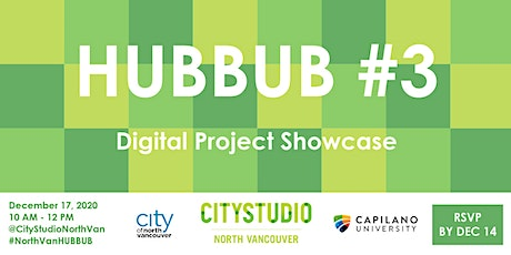 North Vancouver HUBBUB 3: Digital Project Showcase tickets