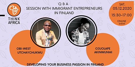 DEVELOPING YOUR BUSINESS PASSION IN FINLAND tickets