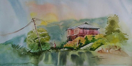 Watercolour painting experience for beginners tickets