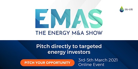 The Energy M&A Show 2021 tickets