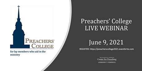 Preachers' College June 9, 2021 tickets