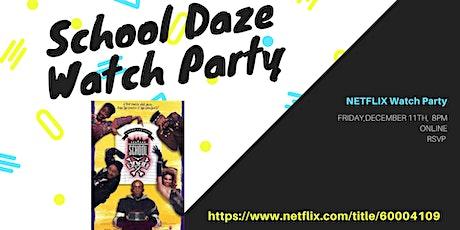 School Daze (1988):  Virtual Watch Party tickets