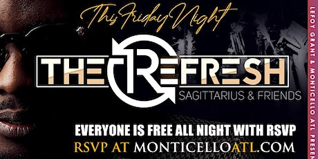 Rsvp for One Free Buffet Pass from 5pm-7pm this Friday at Monticello tickets