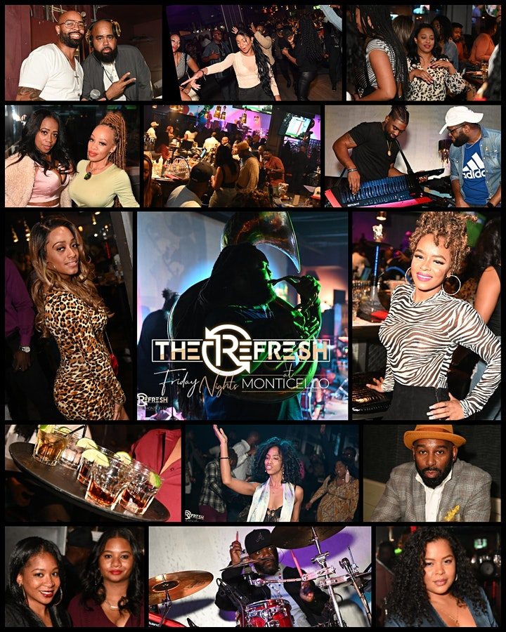 RSVP for the Free Buffet 5PM-7PM + Red Sample Band 7:30-10PM & Afterparty image