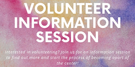 Volunteer Information Session tickets