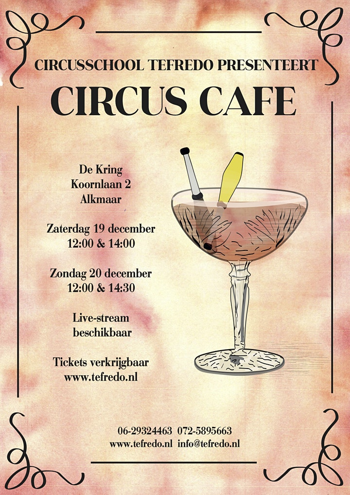 Afbeelding van Circus Café - Live tweede groep