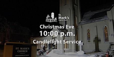 Christmas Eve 10:00 p.m. Candlelight Service | St. Mark's, Orangeville tickets
