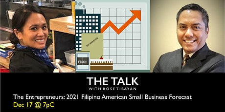 The Entrepreneurs: 2021 Filipino American Small Business Forecast tickets
