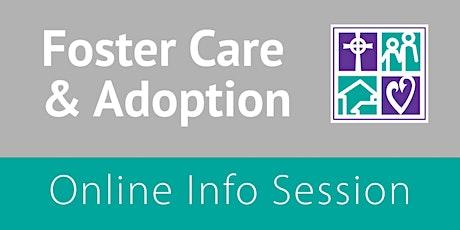 Foster Care & Adoption Online Info Session – ATX, DFW, HOU, WF tickets