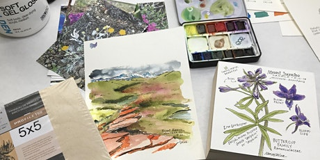 Nature Journaling with Nancy: Watercolor Techniques tickets