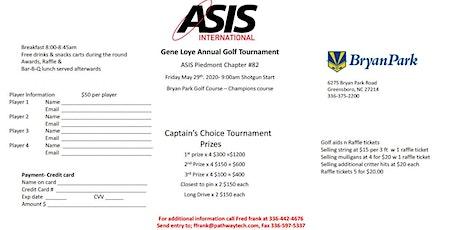 Gene Loye Charity Golf Tournament tickets