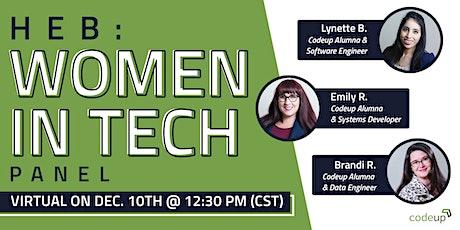 Codeup | HEB Women in Tech Panel tickets