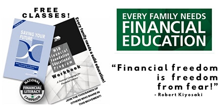 FREE Workshops - Financial Literacy in USA/CANADA tickets