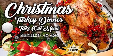 Christmas Eve Turkey Dinner - Take Out Menu (4-6ppl) tickets