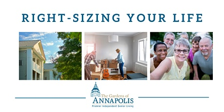 Right-Sizing Your Life Webinar: How to Downsize and Your Community Options tickets