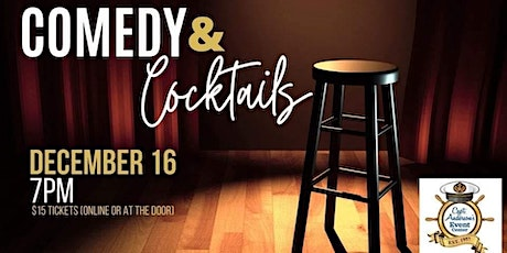 December Comedy and Cocktails tickets