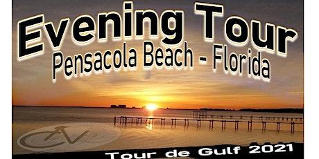 Tour de Gulf 2021 - Evening Tour in Pensacola Beach, Florida tickets