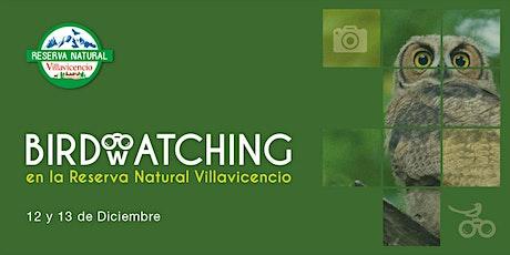 Birdwatching en Reserva Natural Villavicencio entradas