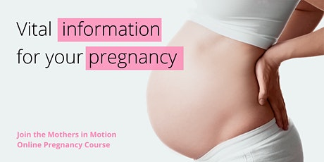 (English) Online pregnancy course Advantage Package: Start 20/07/2021 tickets