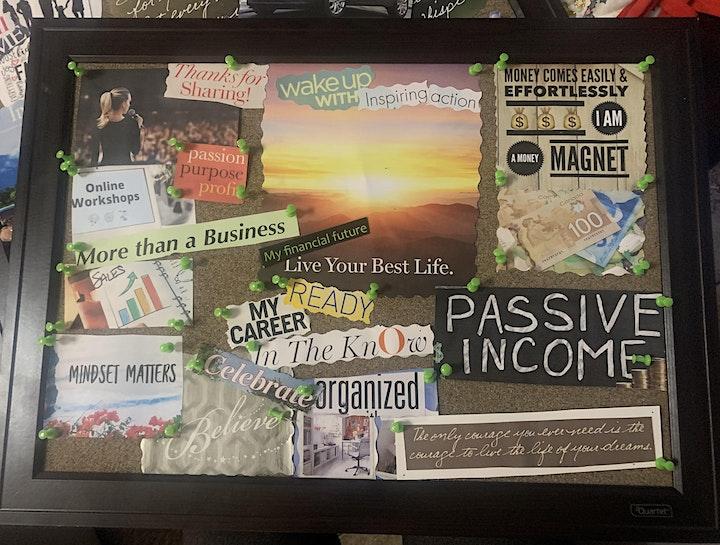 Joyful Creation Vision Board Master class image