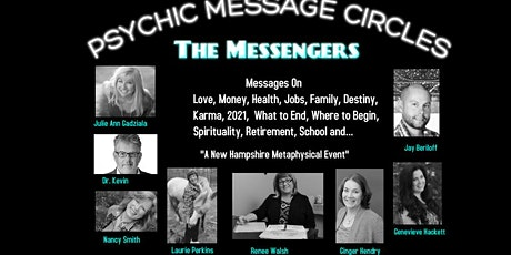 Psychic Message Circles via Zoom Video tickets