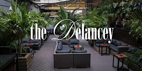 2hr Rooftop Open Bar Brunch + Dinner Party at The Delancey Under The Bridge tickets
